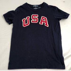 Ralph Lauren Polo navy USA T-shirt